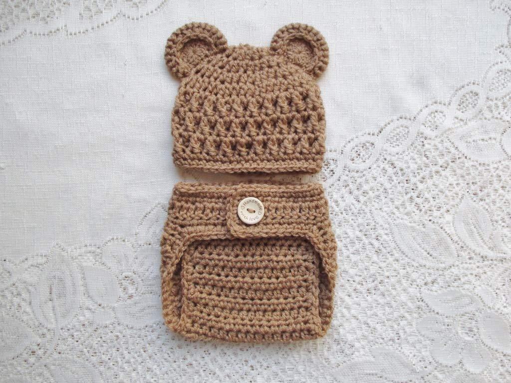 Crochet bear hat & Teddy bear | Crochet bear hat, Crochet ... | 768x1024