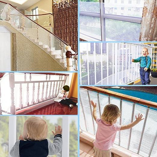 Breiten von 73cm 100cm Safetots Komplettl/ösung Wei/ß Baby Schutzgitter Treppengitter