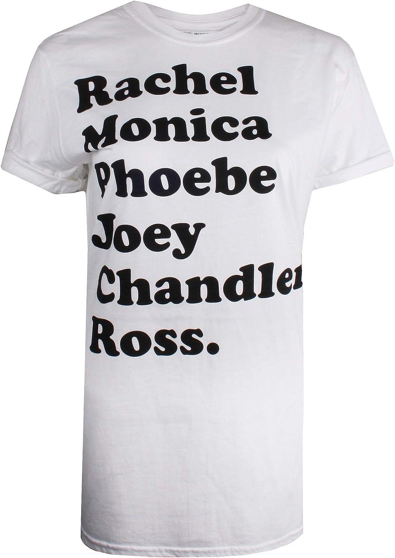 Friends Names Camiseta para Mujer: Amazon.es: Ropa y accesorios