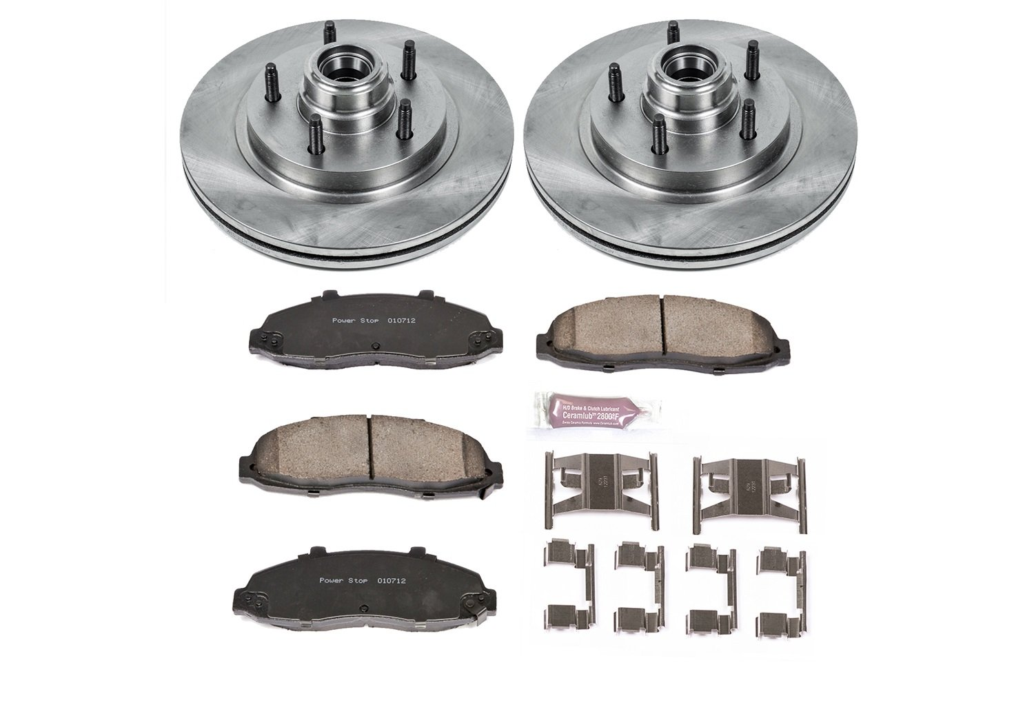 Autospecialty (KOE1865) 1-Click OE Replacement Brake Kit