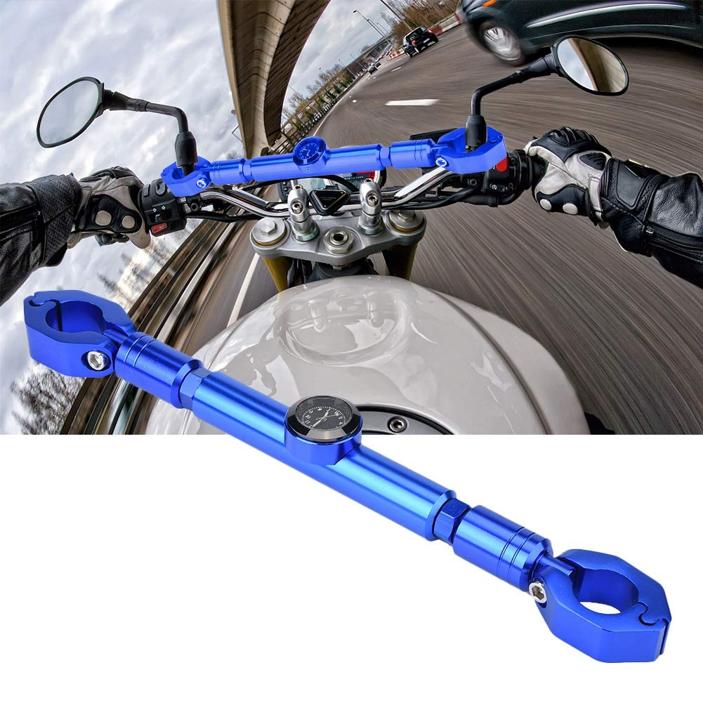 Adjustable Grip Bar Balun Clamp Diameter 22 mm Applicable default dorado Aluminium Alloy Reinforcement Aramox Motorcycle Cross Bar Handlebar