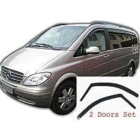 2x Deflectores de Aire Compatible con Mercedes Benz