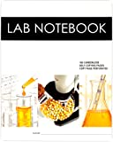 Lab Notebook 100 Carbonless Pages Spiral Bound (Copy Page Perforated): 1000