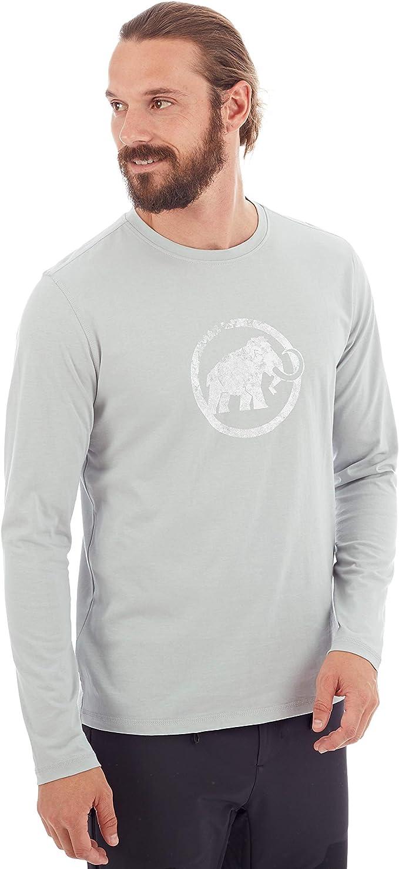 Mammut Mens Camiseta M//L Logo Hombre T-Shirt