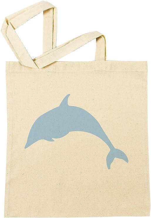 Delfín Bolsa De Compras Playa De Algodón Reutilizable Shopping Bag ...