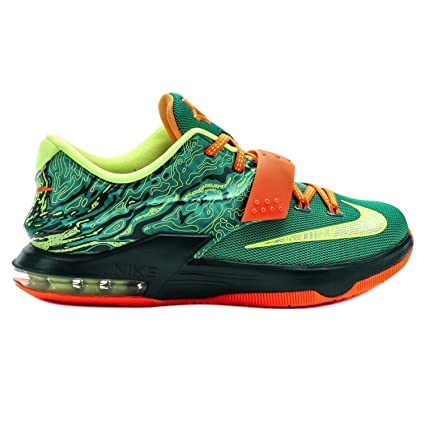 Amazon.com  NIKE KIDS KD VII SNEAKER Green - Grade School Sneakers ... 27c67b94b48e