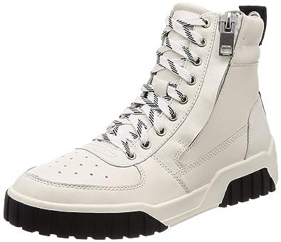 f25afa40 Amazon.com: Diesel Men's Le S-RUA Mc Leather Sneaker: Shoes