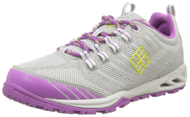 Columbia Women's Ventrailia Razor Trail Shoe B01015OT1Y 10 B(M) US|Oyster/Zour