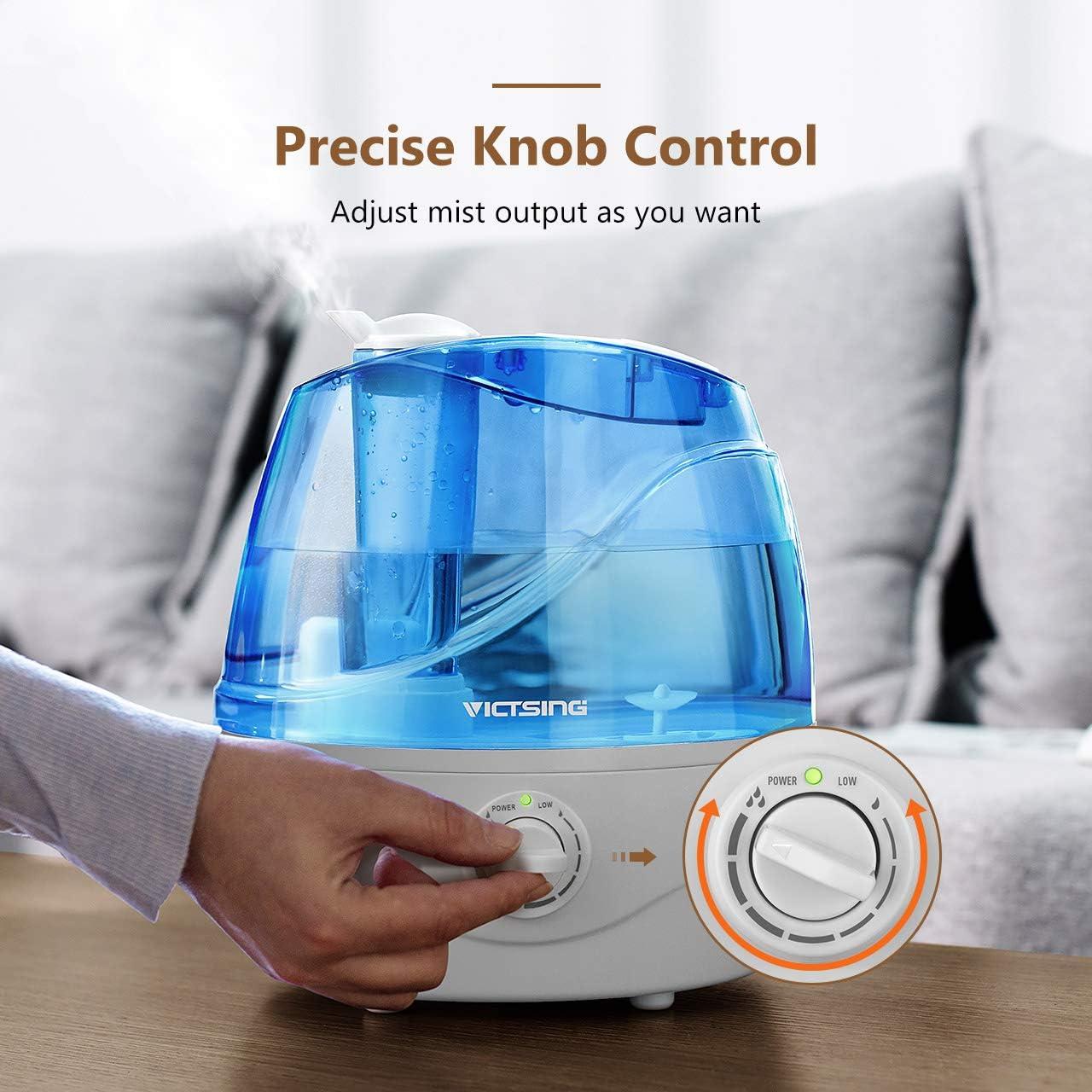 Humidifier für Kinderzimmer Babyzimmer Schlafzimmer VicTsing