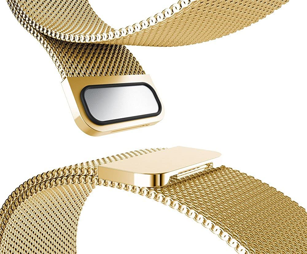 Amazon.com: Milanese Magnetic Loop Stainless Steel Watch Band Strap for Garmin VIVOsmart HR: Clothing