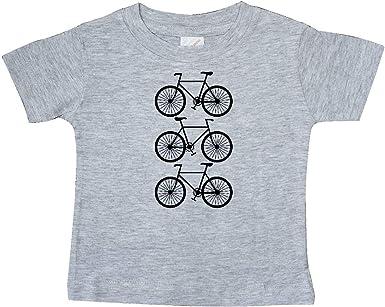 inktastic Biking Gifts Bicycle Silhouette Toddler T-Shirt