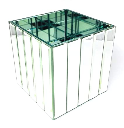 Amazon Serene Spaces Living Gatsby Mirror Strip Cube Vase Art