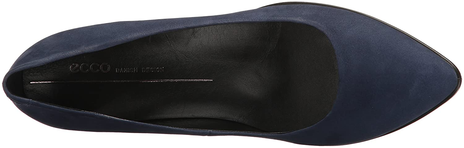 Ecco Damen Blau Shape 45 Pointy Sleek Pumps Blau Damen (Blau Iris) 9677f3