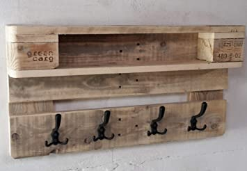 Woodful Palettenmöbel Paletten Garderobe Hallig Südfall ...