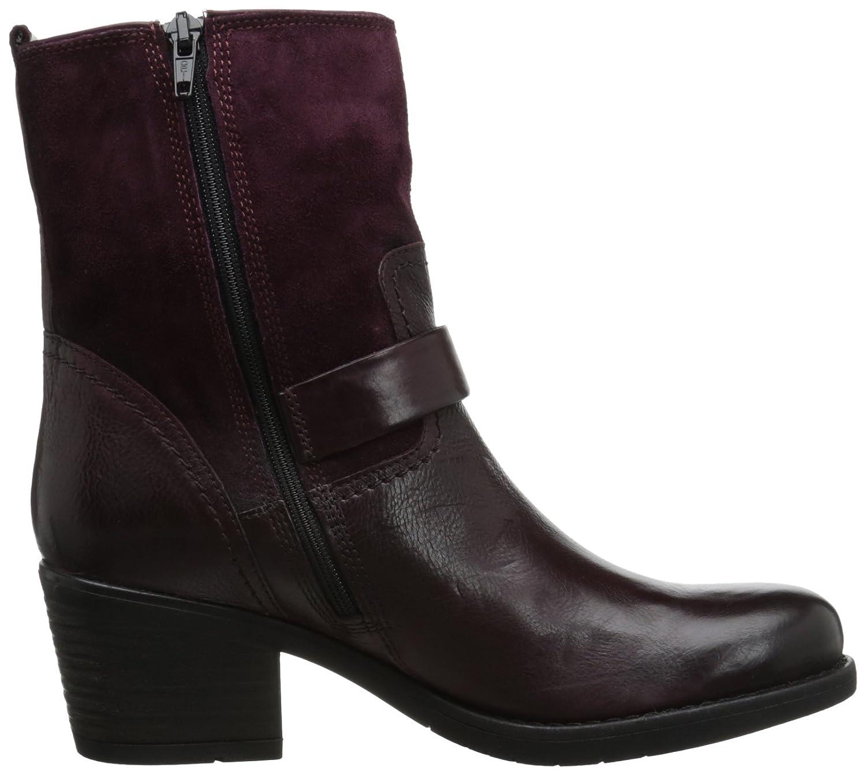 Amazon.com | CLARKS Women's Mojita Sorbet, Burgundy Leather, 6 M US | Ankle  & Bootie