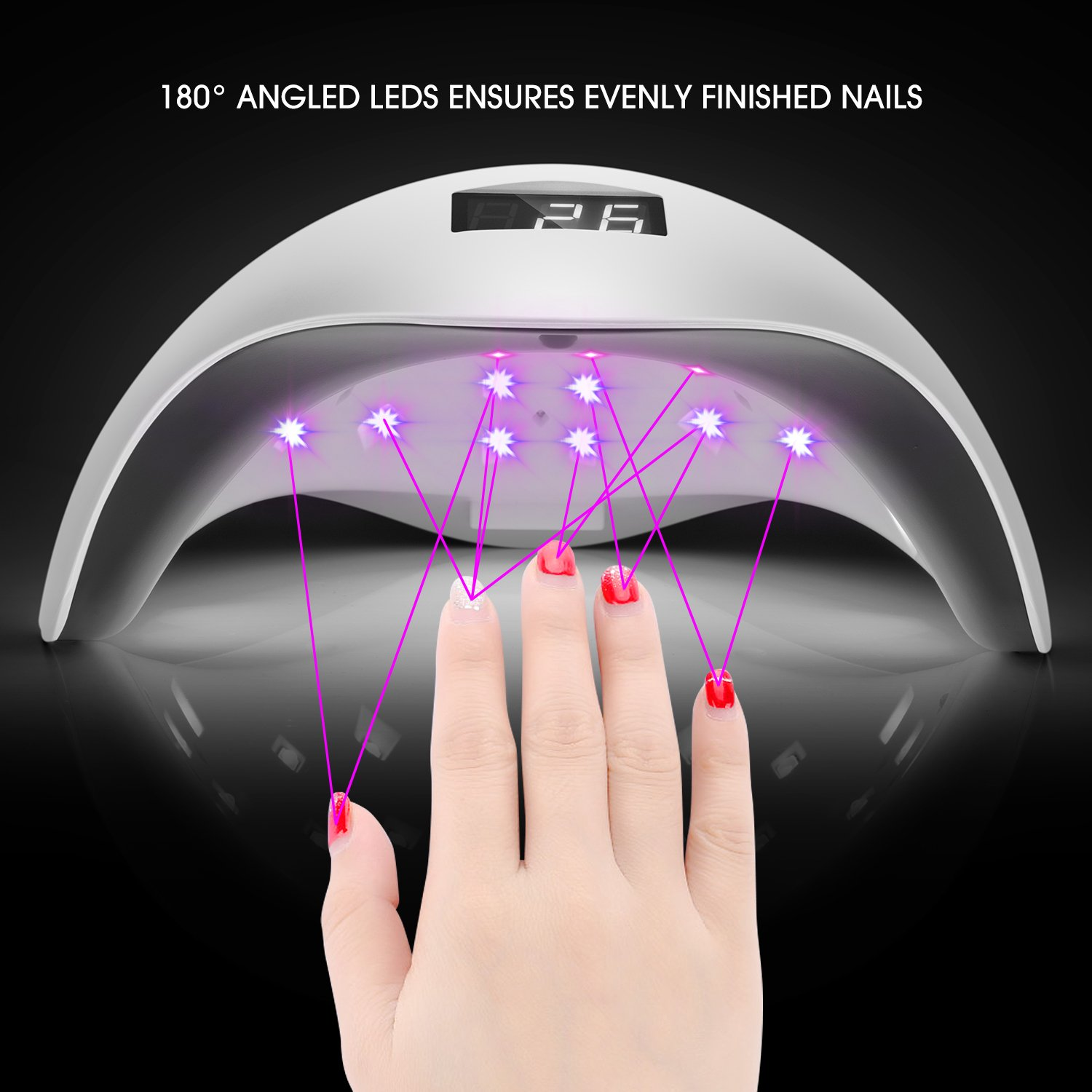 Buy 36W UV LED Nail Lamp Manicure/Pedicure Nail Dryer Nail Light ...