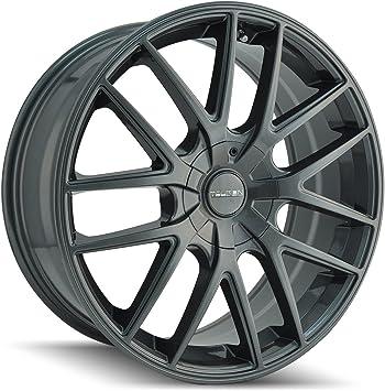TOUREN TR65 Wheel with Gunmetal 17 x 7.5 inches //5 x 72 mm, 40 mm Offset