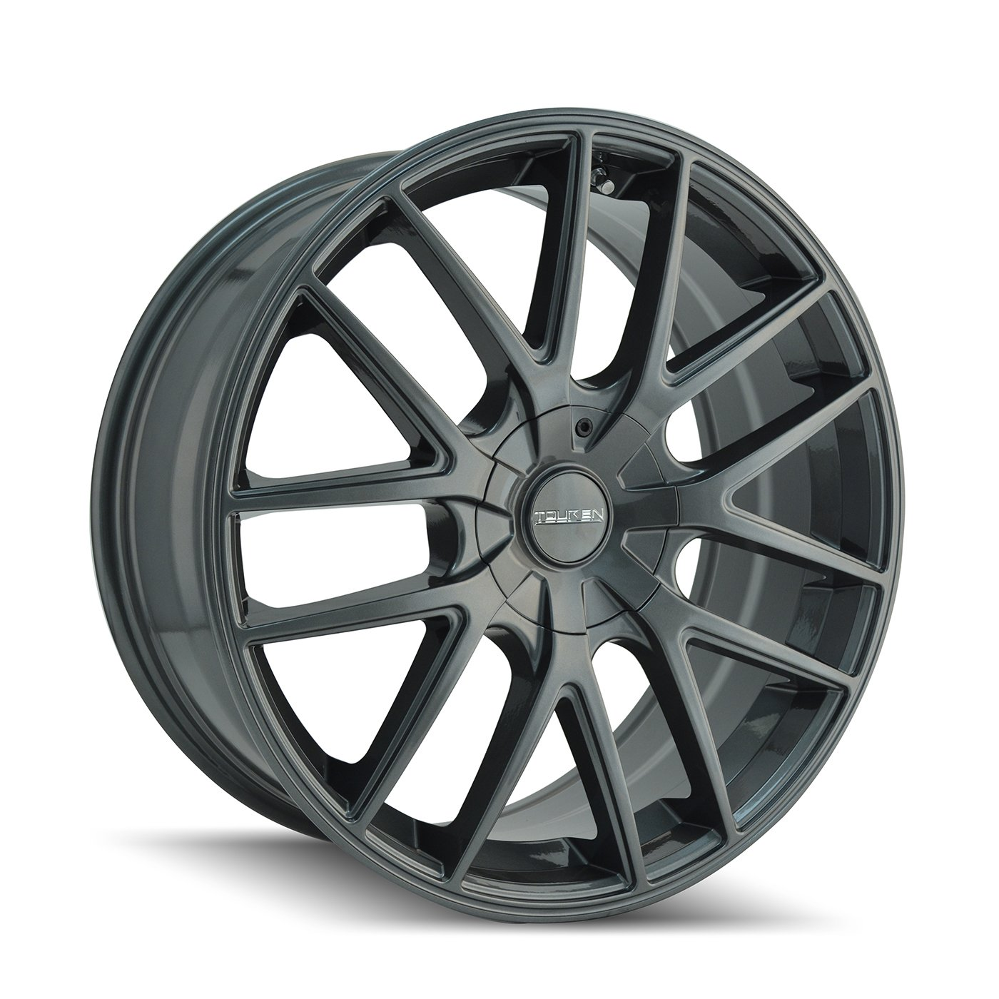 Touren TR60 3260 Wheel with Gunmetal Finish (18x8''/5x108mm)