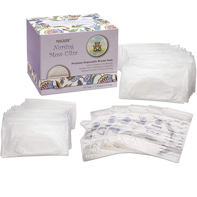 2x Lansinoh Breast Pads 60 Disposable Nursing Pad Maternity Breastfeeding Mother