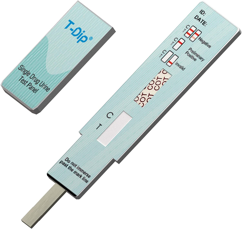 Prime Screen [25 Pack] Nicotine Tobacco Cotinine Urine Test Kit - Urine Dip Card Testing Cotinine from Smoking - WCOT-114