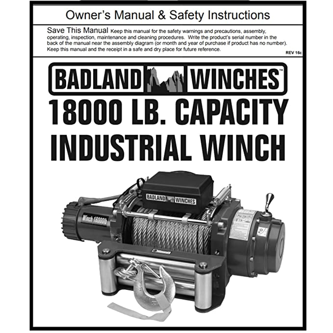Amazon 18000 Lb Industrial Tow Truck Electric Winch With