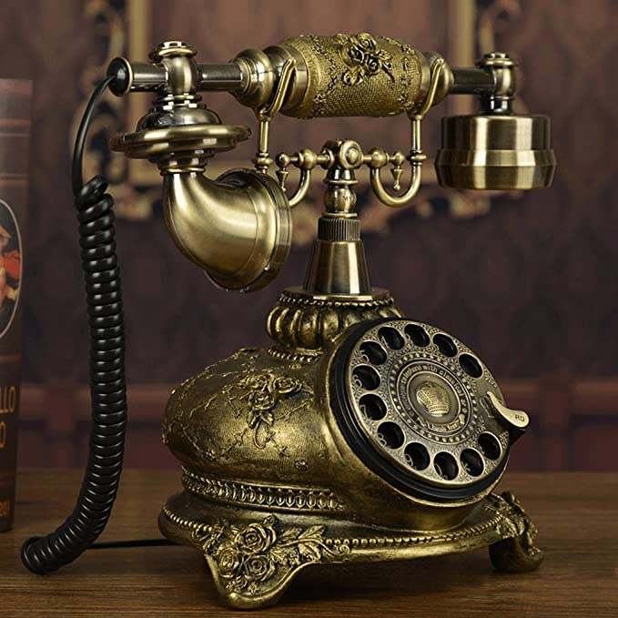 Amazon.com: lilishangpu Lili con cable Telephon teléfono ...
