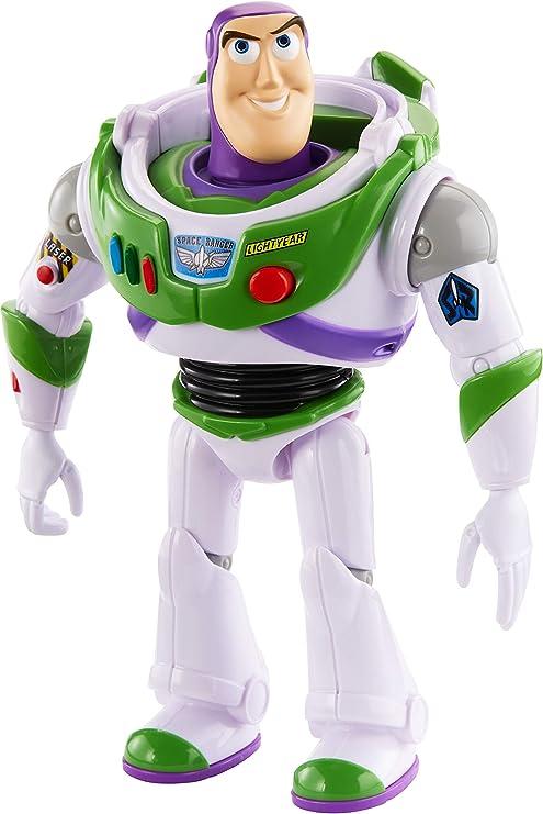 Mattel- Disney Toy Story 4-Figura con Voces y Sonidos Buzz ...