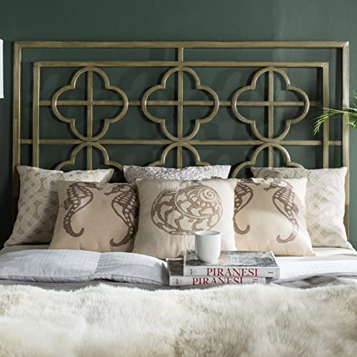 Safavieh Home Collection Lucina Gunmetal Headboard, King