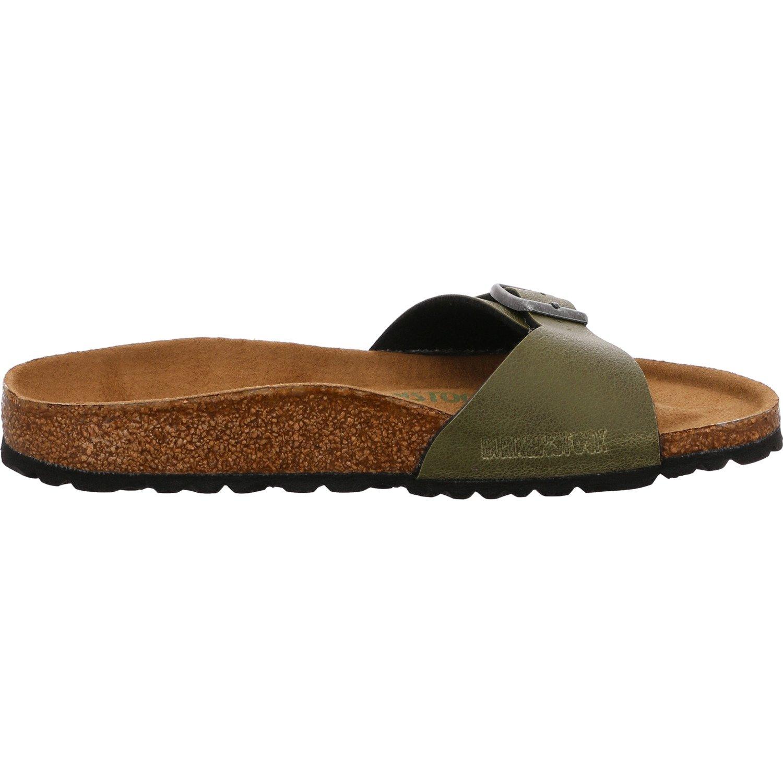 20cd5d871c8bd Birkenstock Madrid Pull up Olive Vegan Birko-Flor  Amazon.co.uk  Shoes    Bags
