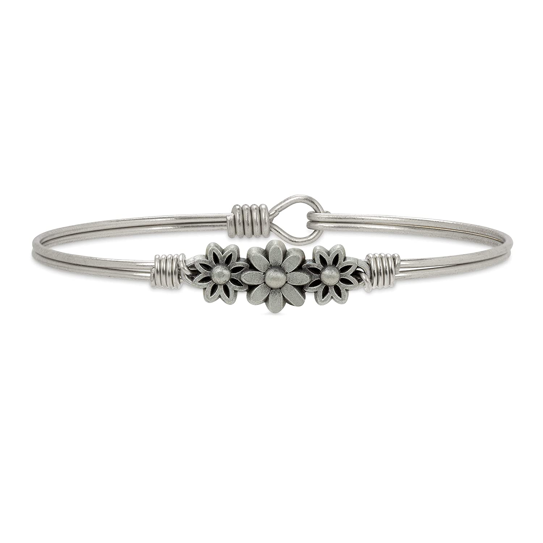 Danni Daisy Bangle Bracelet for Women Made in USA Luca