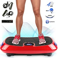 Sportger/äte mit Trainingsb/ändern ydrtety Vibrationsplatte Fitness Ger/äte f/ür Zuhause Ganzk/örper Trainingsger/ät