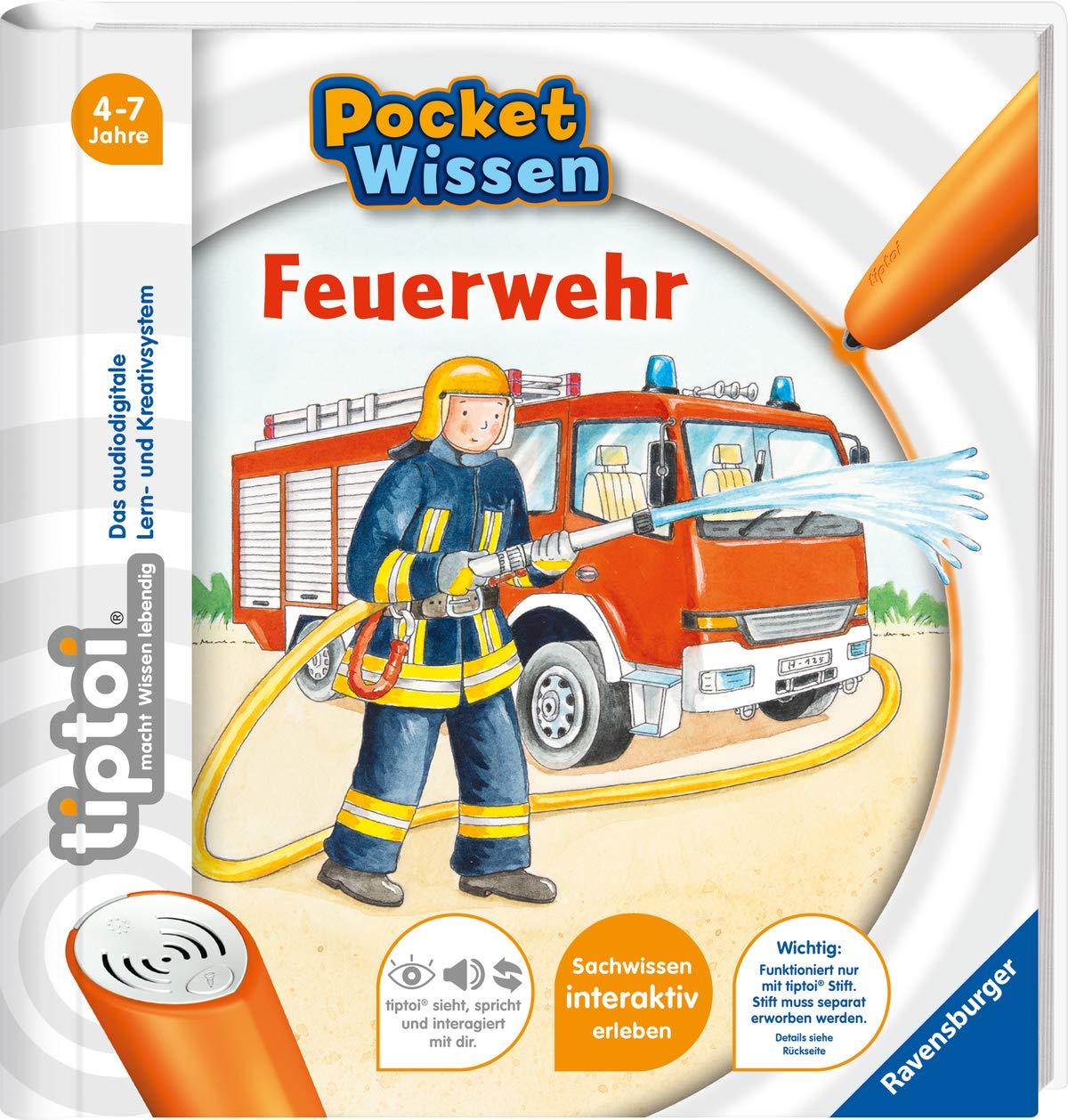 Tiptoi® Feuerwehr  Tiptoi® Pocket Wissen