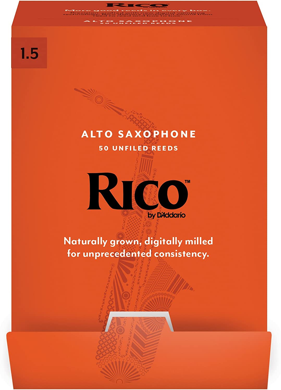 Rico by D/'addario Alto Saxophone Reeds 2.5  3-Pack  RJA0325