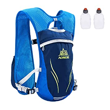 6955cc47f0 Azarxis Running Hydration Vest Backpack Pack Ultra Trail Race Chaleco  Hidratacion 5.5L for Men Women