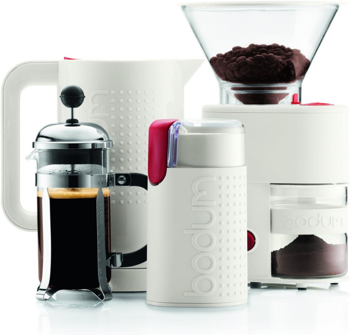 Bodum Bistro Molinillo de café eléctrico, 150 W, plástico, Acero ...