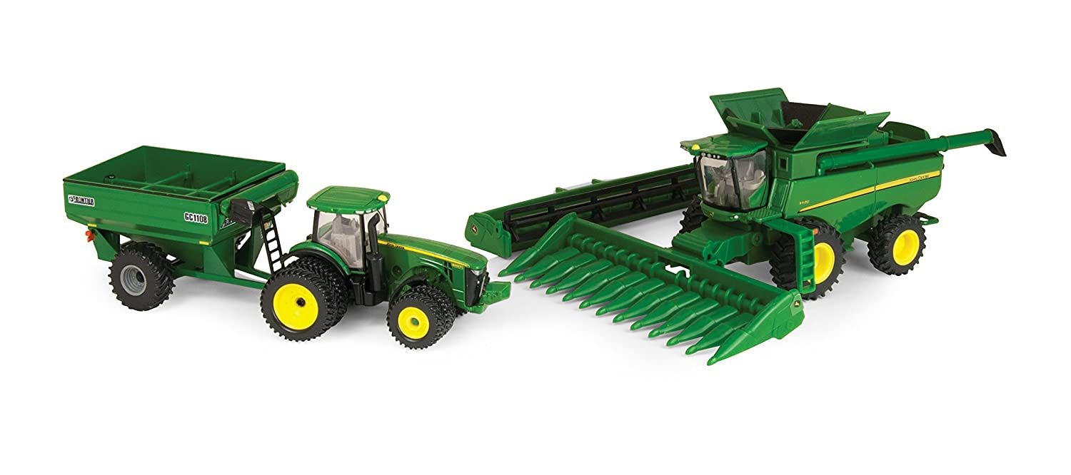 ERTL 45443 Collectibles John Deere Harvesting Set