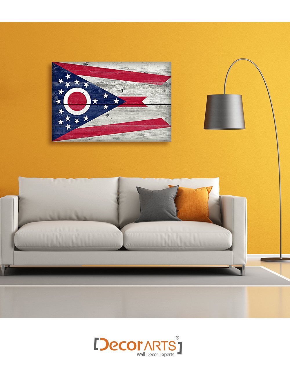 Outstanding Ohio State Wall Decor Ensign - Wall Art Collections ...