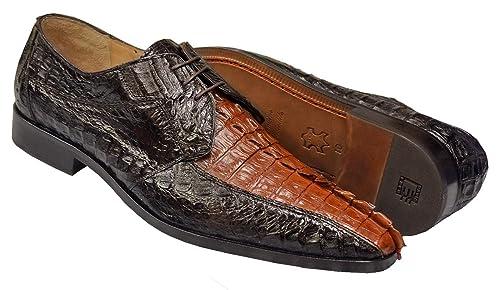 diversified latest designs sale big discount of 2019 DAVID EDEN Cancun Men's Genuine Hornback Crocodile Tail ...