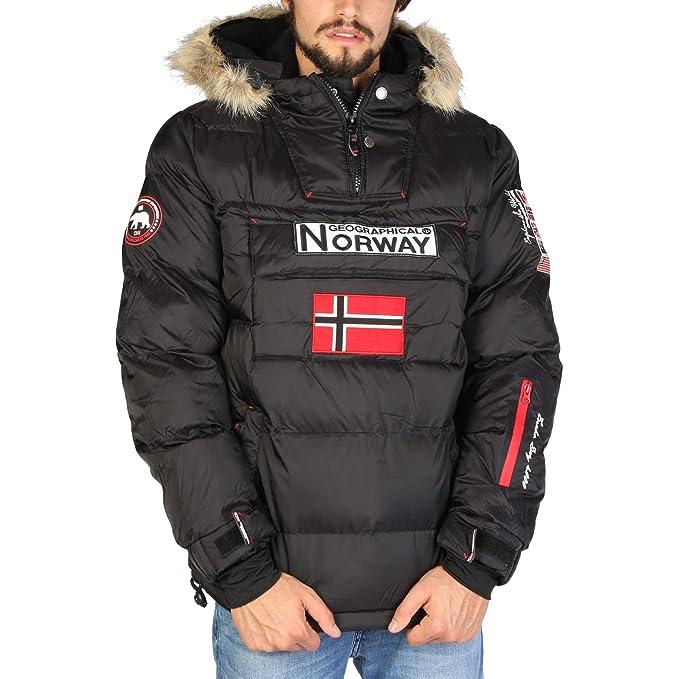 Geographical Norway Chaqueta Brice_Man Hombre Color: Negro Talla: XXXL: Amazon.es: Ropa y accesorios