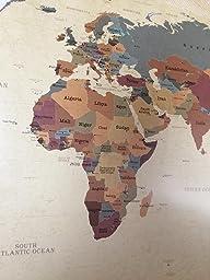beneart weltkarte vintage poster xxl weltkarte alt retro motiv landkarte poster gro. Black Bedroom Furniture Sets. Home Design Ideas