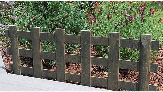 Bordure de Jardin Country en PVC 45 x 100 cm (Catégorie : Bordure de jardin) : Amazon.es: Jardín