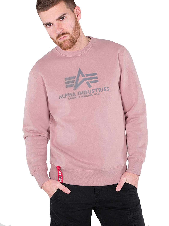 Alpha Industries Industries Industries Herren Pullover Basic Sweater B07FTLW3S4 Pullover Starker Wert 25bcfa
