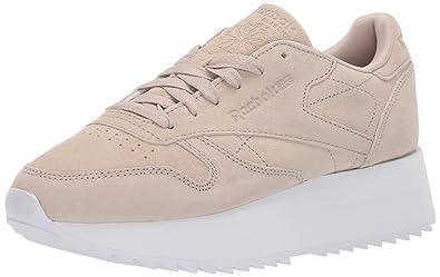 436bc7d2b Amazon.com   Reebok Men's Classic Leather Double Sneaker   Fashion ...