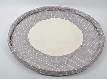 BROWN POLAR Runde Laufgittereinlage f/ür Laufgitter Krabbeldecke Spieldecke ALANEL Durchmesser ca 120 cm