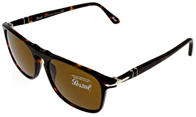 9fcaffa05e Image Unavailable. Image not available for. Colour  Persol Sunglasses  Unisex Havana PO3059S 24 33 Rectangular