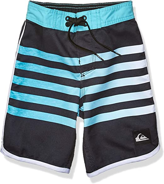 Quiksilver Little Everyday Grass Roots Boy 14 Boardshort Swim Trunk,