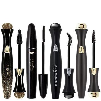 802dcd52384 Amazon.com : Mirenesse Cosmetics Best 24Hr Mascaras Full Size Kit 4pc :  Beauty