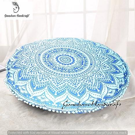Life Arts hippie decorativa indio mandala tapiz boho Cojín ...