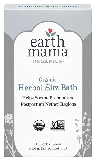 Image result for earth mama herbal sitz bath