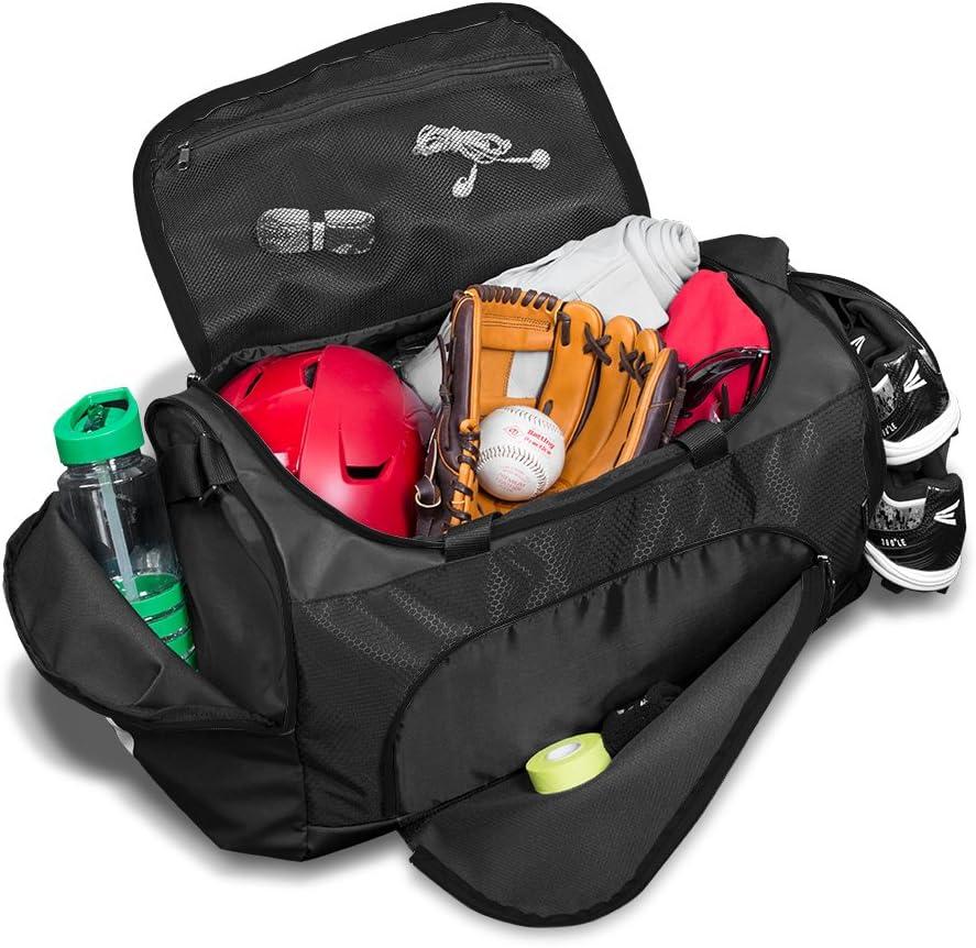 Easton E310D Red Team Player Duffle Baseball Softball Equipment Bag A159034